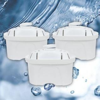 Filterkartuschen für Wasser-Filterkanne 3er-Set Wasserfilter Trinkwasserfilter