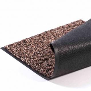 Fußmatte Lima braun 40x60cm Schmutzfangmatte Bodenmatte Fußabtreter wohnen Matte