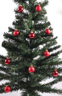 Weihnachtsbaumkugeln 12er-Set rot Christbaumkugel Baumschmuck 3cm Weihnachtsdeko