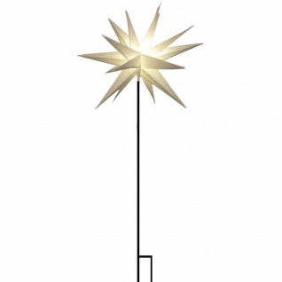 LED Stern Stab Ø 58cm LED Beleuchtung Leuchtdeko Weihnachtsdeko Weihnachten XMAS