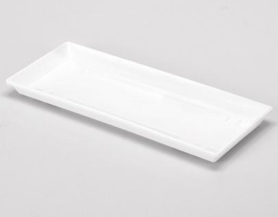 Geli Kastenuntersatz 80cm Weiß Blumenkastenuntersetzer Pflanzkasten Untersetzer
