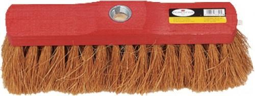 HOMESTYLE Basic KOKOS-BESEN Kokosbesen 28cm Rot M.gewind.