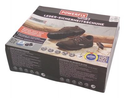 Sicherheitsschuhe Arbeitsschuhe Schutzschuhe Halbschuhe Stiefel Leder Stahlkappe - Vorschau 5