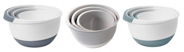 Rührschüsseln 3er-Set Salatschüssel Servierschüssel Teigschüssel Backschüssel