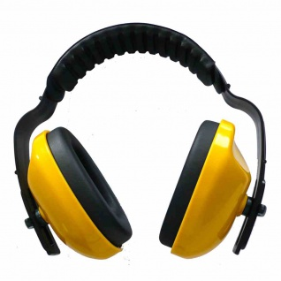 Kapselgehörschutz Leder SNR 25dB Bügelgehörschutz Gehörschutz Ohrstöpsel Schutz