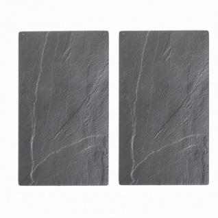 "Multi-Glasschneideplatte "" Schiefer"" 2er-Pack 52 x 30 cm"