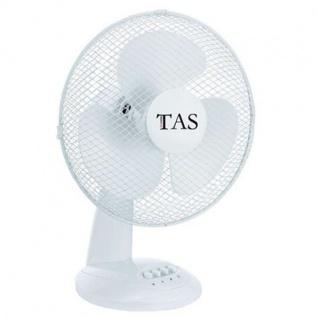 Tischventilator Ø30cm Lüfter Ventilator Kühlung Gebläse Windmaschine Klimagerät