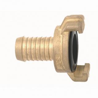 """Messing Schlauchstück 25mm (1""""), 25mm"""
