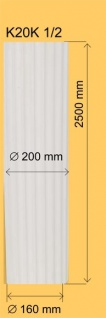 Säule Kolumn K20 K 1/2