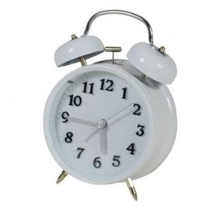 Nostalgie Wecker Tischwecker Uhr Retro Glockenwecker Reisewecker Analogwecker