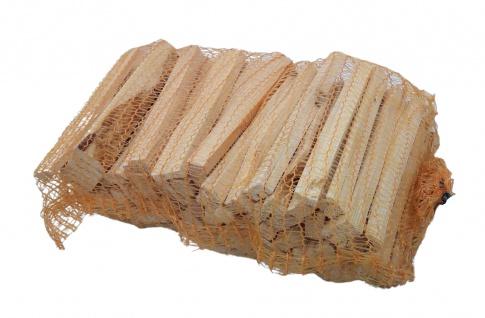 Anzündholz im Sack getrocknet Anfeuerholz Nadelholz Kiefer Fichte Brennholz