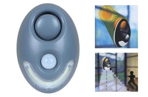 Solar LED Nachtlicht Nachtlampe Bewegungssensor Campinglampe Orientierungslicht