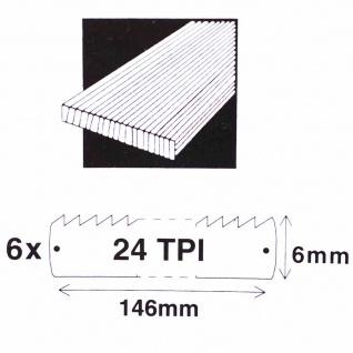 Ersatzblätter 150mm 12 Stück Sägeblätter Bügelsäge Eisensäge Handsäge Werkzeuge