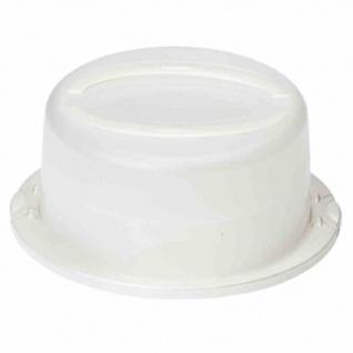 Tortenglocke rund Ø 30 x 17 cm Zwischenboden für den Transport von 2 Kuchen