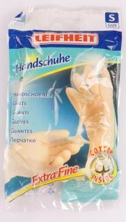 LEIFHEIT Handschuhe Extra Fine S Schutzhandschuhe Gummihandschuhe Spülhandschuhe