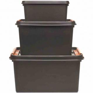PROFI-Box 50l schwarz SmartStore Box Boxen Aufbewahrung Möbel Haushalt wohnen