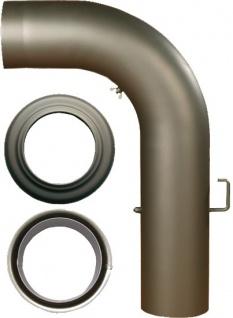Homestyle Premium KAMINROHRSET Kaminrohr-Set Glatt Senoth Grau 150mm