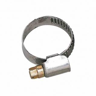 Schlauchschelle 16-27mm 12mm Bandbreite verzinkt