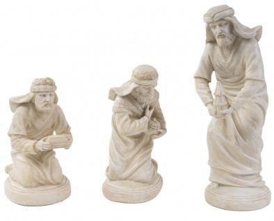 Heilige Drei Könige Krippenfigur Weihnachtsfigur Weihnachtsdeko handbemalt Deko