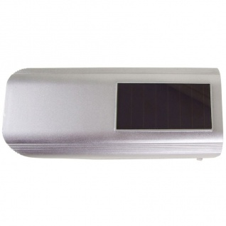 Überwachungskamera Attrappe mit LED und Solar - Vorschau 3