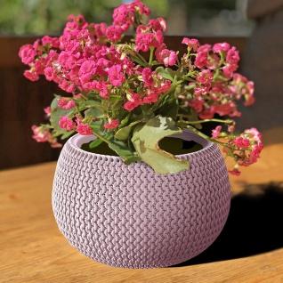Blumentopf Helle Beere Strickmuster Pflanztopf Pflanzkübel Blumenkübel Übertopf