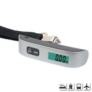 Mobile Digital-Kofferwaage bis 50kg Gepäckwaage Reisewaage Babywaage Thermometer