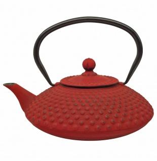 Teekan.gusseisen Teekanne G001r Xil. 0, 8l Rot - Vorschau