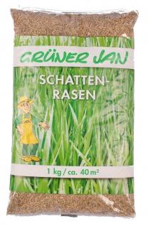 Schattenrasen 1kg Rasensamen Rasen Samen Grassamen Gras Rasensaat Garten Wiese