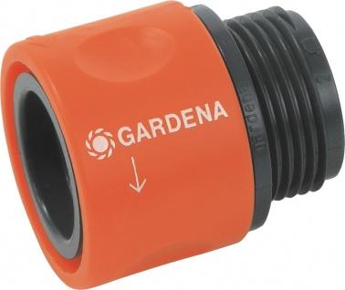 Gardena Übergangs-Schlauchstück 917-50 Schlauchstueck 3/4