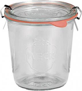 WECK RUNDRANDGL.0, 5L Rundrandglas 742 Sturzf.4er-kt.4t-742