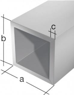 Gah Alberts Vierkantrohr 474522 Alu Silberf. 2m/15x1, 0 - Vorschau