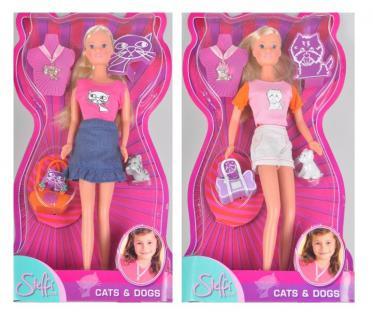 Simba Steffi Love Cats & Dogs 2 versch. Design