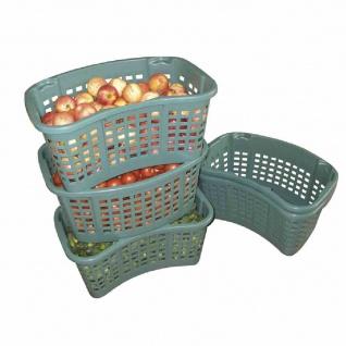 Drehstapelbehälter 35 l grün (lebensmittelecht)