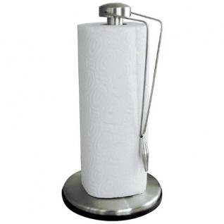 Edelstahl Küchenrollenhalter matt Küchenpapier Rollenhalter Abroller Küchenrolle