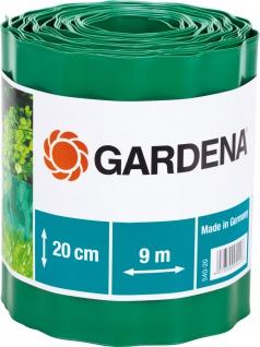Gardena Raseneinfassung 540 Gruen20cm540