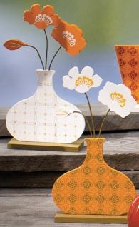 DEKOBLUME 425622 I Vase Sort 11x21cm