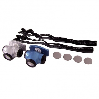LED-Mini-Kopflampen 2er-Set Stirnlampe Kopfleuchte Campinglampe Outdoor Trekking
