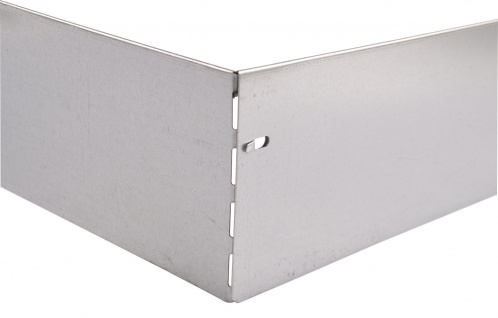 Bellissa Metall Rasenkante 118cm verzinkt Beetumrandung Beeteinfassung Mähkante - Vorschau 5