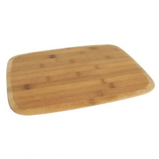 Bambus-Schneidebrett 30x20cm Frühstücksbrettchen Küchenbrett Holzbrett Brettchen