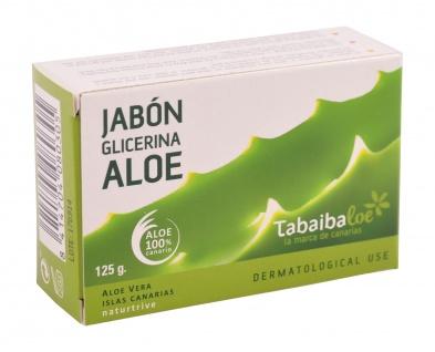 Tabaibaloe Glycerin-Seife mit Aloe Vera Pflegeseife Handseife Stückseife Soap