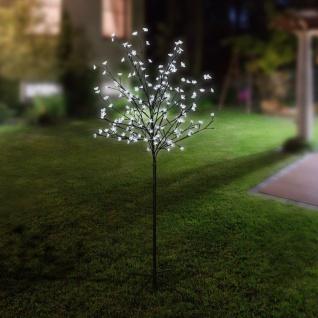 LED-Lichterbaum Japanische Zierkirsche 1, 5m Leuchtbaum Gartendeko Blüten Baum