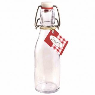 Bügelflasche rund 200 ml mit Bügelverschluss