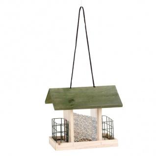 Vogelfutterhaus Vogelstation Futterspender Futterkrippe Futterhaus Vogelhäuschen