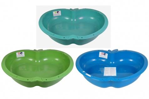Sandkasten Apfel Planschbecken Buddelkasten Pool Sandbox Sandkiste Spielzeug