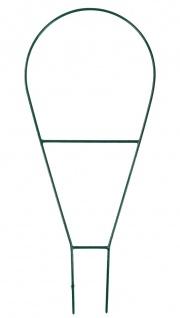 Rankhilfe für Topfpflanzen grün Blumenstütze Pflanzstütze Kletterhilfe 64x33cm