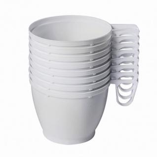 Kaffeetasse mit Henkel 0, 18 l, 8 Stück Kunststoff