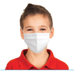 20x Medizinische Einwegmaske, Kindermaske, Gesichtsmaske für Kinder