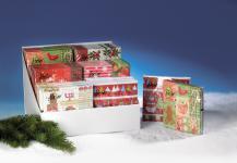 """SERVIETTEN ,, Weihnachten"""" Sort Dekore 1180-8012un"""