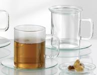 """BOHEMIA Cristal TEEGLAS Teeglas-Set ,, Lin"""" 22012005 Set 6tlg 200ml"""
