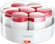 SEVERIN SEV Joghurtbereiter JG 3519-000 Joghurt Fix Weiss Rot